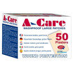 A-care Washproof Jumbo Plasters  75mm x 50mm - 50 per box Thumbnail