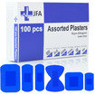 JFA BSI Medium catering first aid kit including 100 blue detectable plasters Thumbnail