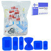 JFA BSI Medium catering first aid kit refill including 100 blue detectable plasters Thumbnail