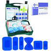 JFA BSI Small catering first aid kit including 100 blue detectable plasters Thumbnail