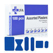 JFA HSE 10 Person catering first aid kit including 100 blue detectable plasters  Thumbnail