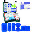 JFA HSE 20 Person catering first aid kit including 100 blue detectable plasters Thumbnail