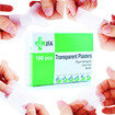 JFA Transparent Washproof Assorted Plasters (6 Sizes) 100 Plasters Per Box Thumbnail