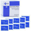 Premium Sterile Saline (0.9% NaCl) Wipes - Box of 100  Thumbnail