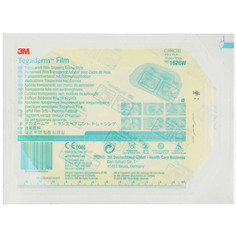 3 M 34901 Tegaderm Transparent Film, 10 cm x 12 cm, Box of 50