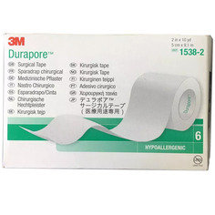 Durapore Surgical Tape (3M) 5cm x 9.14m - BOX OF 6