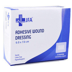 Adhesive Sterile Wound Dressings - Pack of 25 (60mmx70mm)