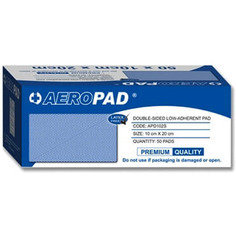 Aeropad Double Sided Low-adherent Pad 10cm x 20cm - Pack of 50