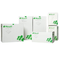 Mesoft Non Sterile Gauze Swabs 5cm x 5cm - Pack of 100
