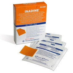 Premium Inadine Low-adherent Pad 5cm x 5cm - Pack of 25