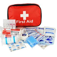 BBQ, Bonfire and Fireworks First Aid kit