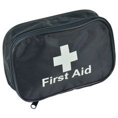 Black Economy first aid pouch - empty