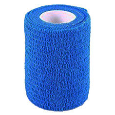 Blue Colour Cohesive Latex Bandage 7.5cm x 4.5m - Single
