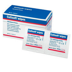 BSN Cutisoft Pre-injection Wipes - Box of 100