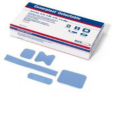BSN Premium Blue Detectable Plasters (7 sizes) - 95 per box