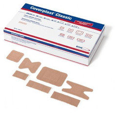 BSN Washproof Assorted Plasters (7 sizes) - 126 per box