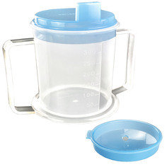 CASE OF 20 Drinking Cup/Beaker/Mug for Disabled Adults with Easy Grip Handles