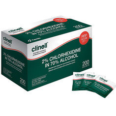 Clinell CA2C200 Wipes- Box of 200