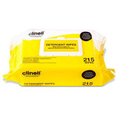 Clinell Detergent Wipes - Pack of 215