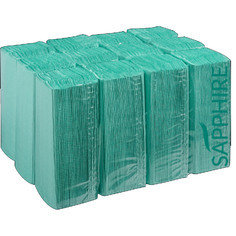 Fourstones Sapphire C-Fold Hand Towels 1Ply - Green 2880 Sheets