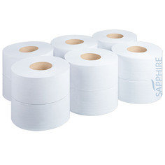 Fourstones Mini Jumbo Toilet Roll - 12 Rolls