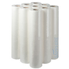 Fourstones Sapphire White Couch Roll 20'' x 40M - Pack of 9