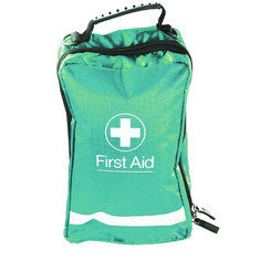 Green Eclipse First Aid Bag 24.5cm x 15.5cm x 10cm