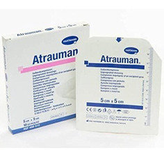 Hartmann Atrauman Dressings, 5cmx5cm, Box of 50