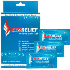 Redrelief Burn Gel Sachets 3.5g - Pack of 20