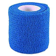 Blue Colour Cohesive Latex Bandage 5cm x 4.5m - Single