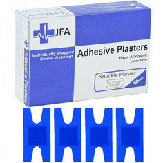 JFA Blue Knuckle Plasters 48 x 75mm 50 Plasters Per Pack