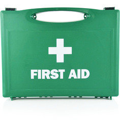 Large Green First Aid Box - Empty
