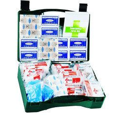 JFA Medical 50 Person HSE Workplace First Aid Kit in standard case