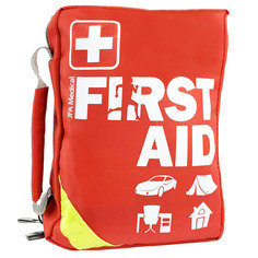 JFA Medical 185 Pcs First Aid Kit Bag