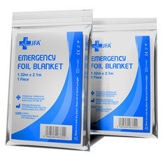 JFA Medical Emergency Foil Survival Blanket - Single Blanket