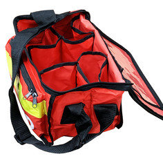 JFA Medical Red Haversack Emergency First Aid Bag - Empty