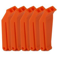 JFA Orange First Aid Whistles - Pack of 10 (EN394 approved)
