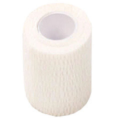 White Colour Cohesive Latex Bandage 7.5cm x 4.5m - Single
