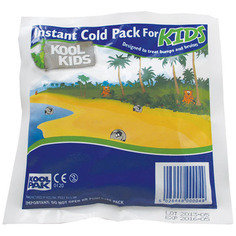 Koolpak Children's Instant Ice Packs 150mm x 150mm  - Pack of 20