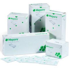 Mepore Self Adhesive Wound Dressings 90x100mm - Pack of 50