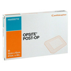 Opsite Post-Operative Dressing, 10 x 12 cm - Pack of 10