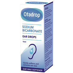 Otadrop Ear Wax Remover Sodium Bicarbonate Drops 10 ml