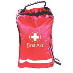 Red Eclipse First Aid Bag 24.5cm x 15.5cm x 10cm