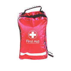 Small Red Eclipse First Aid Bag 16.5cm x8cm x 8cm
