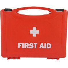 Small Red first aid box - empty