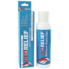 RedRelief Emergency Burn Gel 120ml Bottle