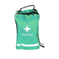 Small Green Eclipse First Aid Bag 16.5cm x8cm x 8cm