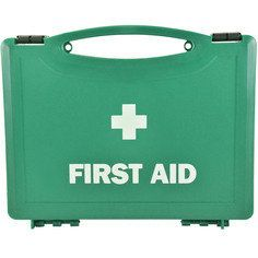 Small Green first aid box - empty