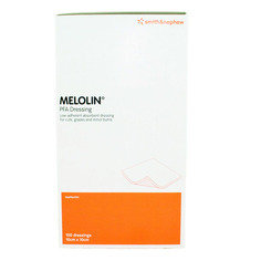 Smith and Nephew Melolin Cushioned Dressing Pad 10cm x 10cm  Pack of 100