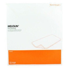 Smith and Nephew Melolin Cushioned Dressing Pad 10cm x 20cm  Pack of 100
